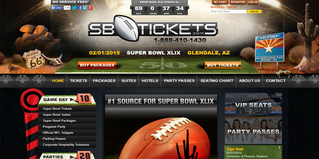 SB Tickets development by Nexosys Technologies