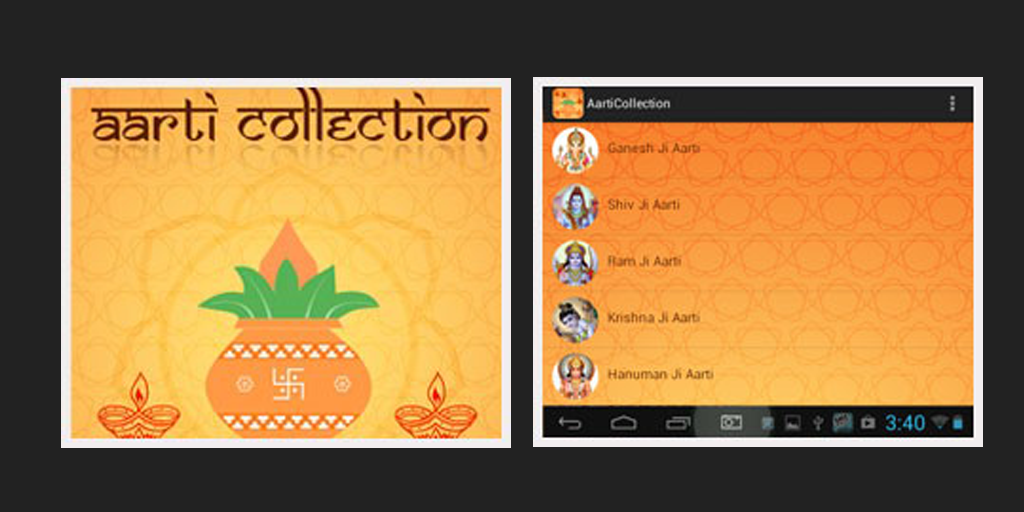 Aarti Collection App